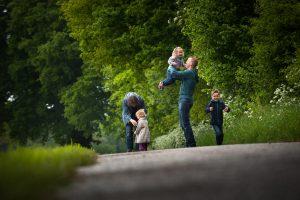 familie verhaalfotografie, familie interactie